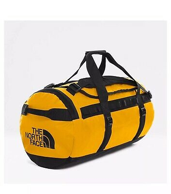 Men's THE NORTH FACE Base Camp Duffel Bag-SUMMIT GOLD/TNF BLACK (Medium) Travel • 102.50£