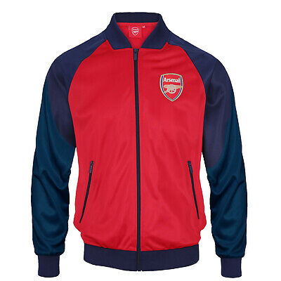 £34.99 • Buy Arsenal FC Mens Jacket Track Top Retro OFFICIAL Football Gift