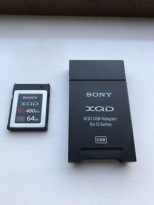 $ CDN112.21 • Buy Sony XQD G Series 64 GB Memory Card + Sony QXD Card Reader