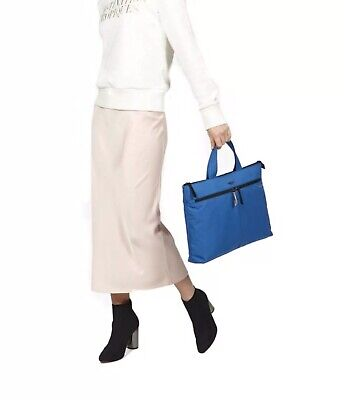 Women's Accessories Knomo London COPENHAGEN LAPTOP Bag  BRIEFCASE - 14  -Blue • 49.99£