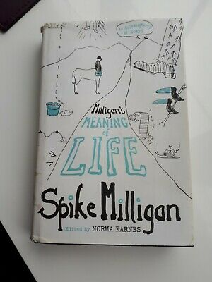 Spike Milligan 'Meaning Of Life' Book *1st Edition* • 5£