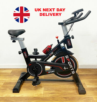 Exercise Cycle Spin Bike Indoor Fitness Gym Flywheel Cycling Home Cardio Workout • 185.45£