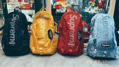 $ CDN253.74 • Buy 777 Store-New 100% Authentic Supreme 2020SS 48Th Backpack Bag