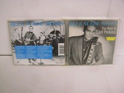 Cd Album Carl Perkins The Best Of Blue Suede Shoes 7696 • 2.50£