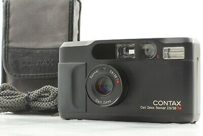 $ CDN2788.81 • Buy 【MINT In Case】 Contax T2 Limited Black 35mm Point & Shoot Film Camera 2000 JAPAN