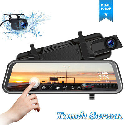 AU92.01 • Buy TOGUARD 10  Touch Dual Lens 1080P Car Dash Camera Front And Rear Video Recorder