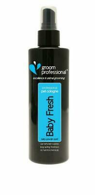 GROOM PROFESSIONAL Baby Fresh Pet Cologne, Pet Smell Remover, Dog Grooming 200ml • 7.49£