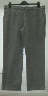 Grey Mens Trousers Made For Bhs~chino Style~atlantic Bay~size 36 R • 4.50£