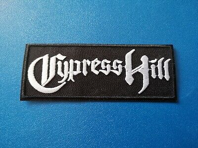 £3.49 • Buy Cypress Hill (a) Patch Sew / Iron On Music Festival Embroidered Badge
