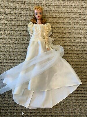 $ CDN17.13 • Buy Vintage Barbie Doll With Evening Dress Excellent Condition