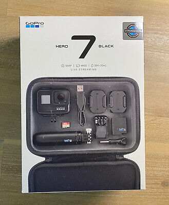 $ CDN96.43 • Buy GoPro HERO7 Black Bundle With Case Shorty Tripod & 32GB SD Card Never Used
