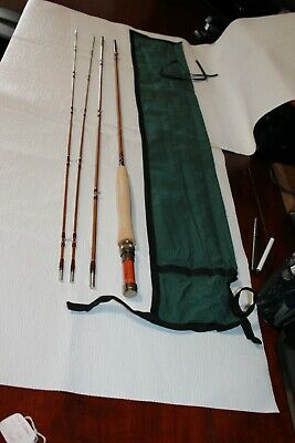 $ CDN665.06 • Buy Readings Fly Shop USA  Bamboo 7ft 6inch 3/4wt W/2 Tips Orvis Battenkill Taper