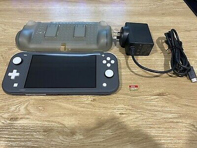 AU230 • Buy Nintendo Switch Lite Grey 32GB Handheld Console + 128gb SD!! PERFECT CONDITION