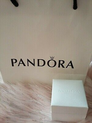 Pandora Love Knot Ring With Pearl Size 54 With Box! 100%genuine • 24.99£