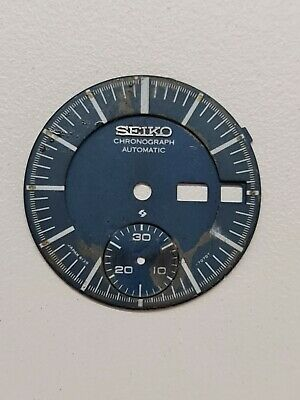 $ CDN14.91 • Buy Vintage Original SEIKO  6139-7070 Dial For Parts, Missing Legs May 1975