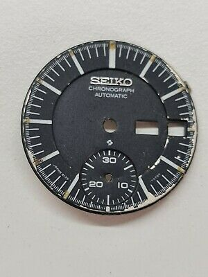 $ CDN14.91 • Buy Vintage Original SEIKO  6139-7070 Dial For Parts, ( X,x ) Scratched Bezel