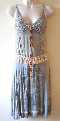 AU66.58 • Buy ❤️ Save The Queen Grey Dress Size L With Beads