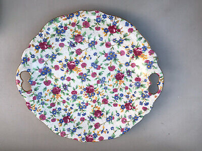 $ CDN21.04 • Buy Royal Winton Grimwades Old Cottage Chinz Cake Plate