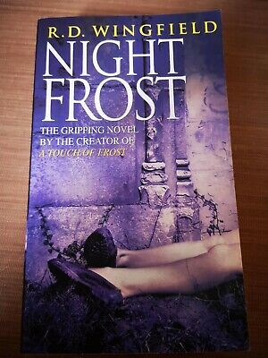 Night Frost: (DI Jack Frost Book 3) By R. D. Wingfield 0552145580 • 0.99£