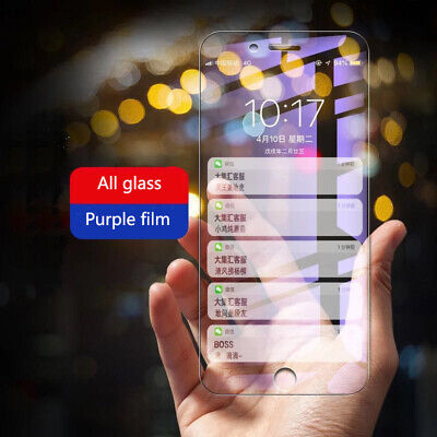 $ CDN6.66 • Buy 2pcs X Anti Blu-Ray Full Cover Tempered Glass Screen Protector For IPhone 12 11