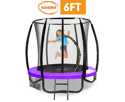 AU522.90 • Buy Kahuna Classic 6ft Trampoline Purple With Safety Net Enclosure Trampolines