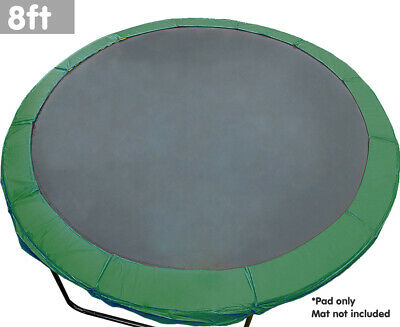 AU70.90 • Buy 8ft Trampoline Replacement Pad Reinforced Outdoor Round Spring Cover Pads Covers