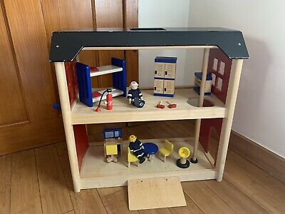 £30 • Buy Pintoy (John Crane) Wooden Fire Station & Accessories