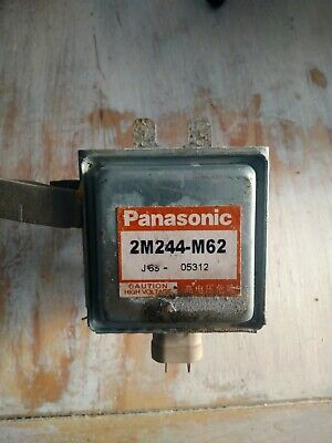 £7 • Buy PANASONIC 2m244-m62 MICROWAVE MAGNETRON  COMMERCIAL DOMESTIC FAULTY MERRYCHEF