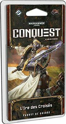AU49.38 • Buy Warhammer 40 000 Conquest L' Ire Of Crusaders Asmodee Game Card VF New