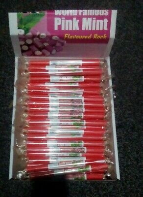 £2.99 • Buy Seaside Sticks Of Rock Pink Mint Flavour Choose Your Own Amount
