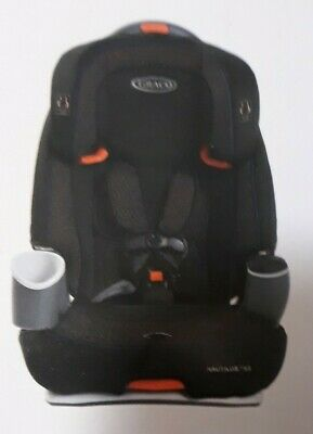 £72.74 • Buy Graco Nautilus 65 3-in-1 Multi-Use Harness Booster Convertible Toddler Car Seat