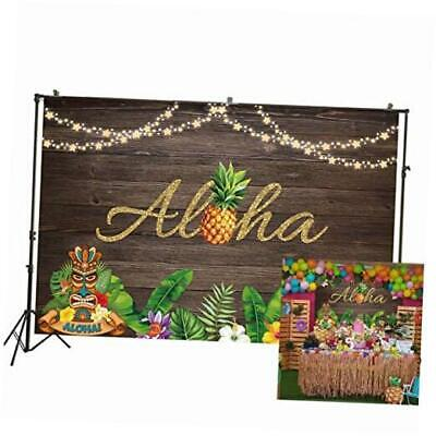 7x5ft Aloha Luau Party Photography Background Rustic 7x5ft(2.2x1.5m) W-2020 • 16.51£
