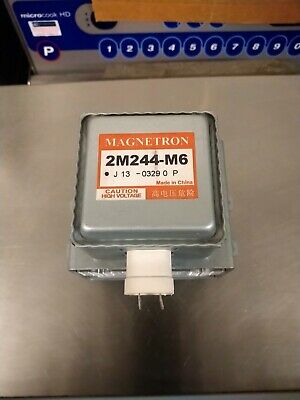 £7 • Buy PANASONIC 2m244-m6 MICROWAVE MAGNETRON  COMMERCIAL DOMESTIC FAULTY