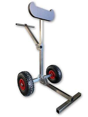 AU313.53 • Buy Outboard Boat Motor Carrier Cart Stand Trolley Foldable Stainless Light Model