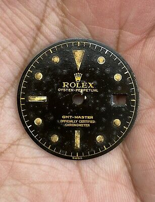 $ CDN14714.41 • Buy Vintage Rolex GMT MASTER 6542 Swiss Only Gilt Dial From Late 1950's