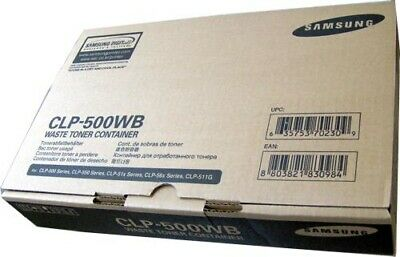 £8.95 • Buy Genuine Samsung CLP-500WB Waste Toner Container New Boxed