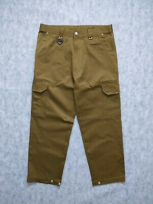 £53.94 • Buy DIESEL Mens Fashionable Cargo Green Pants From Actually Collection Size 32