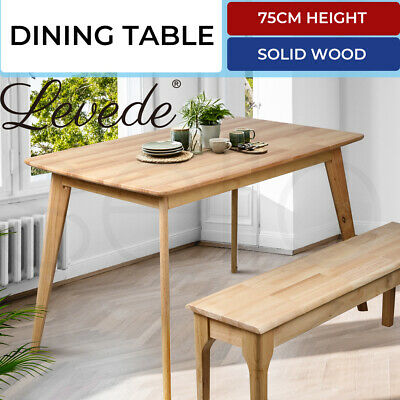AU199.99 • Buy Dining Table Coffee Tables Industrial Wooden Kitchen Modern Furniture Oak