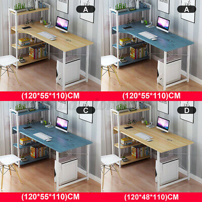 AU79.21 • Buy 4 Tier Storage Rack Computer Desk Table Home Office Study Workstatio