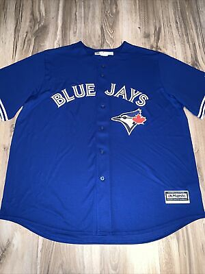 $29.95 • Buy Majestic Toronto Blue Jays Cool Base/Cooperstown Jersey Men's Size 2-XL