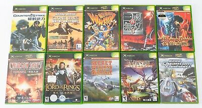 AU77.31 • Buy 8 Games Original XBOX Asia Region Releases NTSC-J Whacked Star Wars Lord Rings +