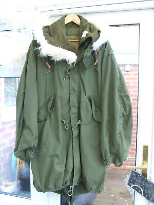 $234.69 • Buy M65 US Army Fishtail Parka Medium + Extreme Cold Weather Liner & Hood  Ace