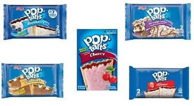 £11.99 • Buy Yummy Pop Tarts American- 5 Flavours Available, Box Of 6 Toaster Pastries