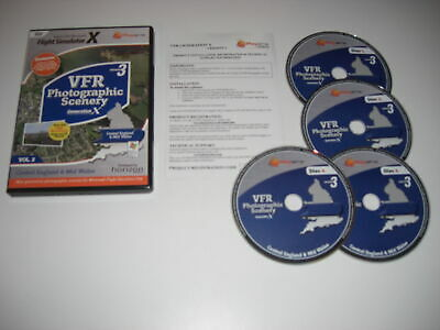 £17.99 • Buy VFR SCENERY Generation X Vol 2 Central England Mid Wales Version 3 Pc Add-On FSX
