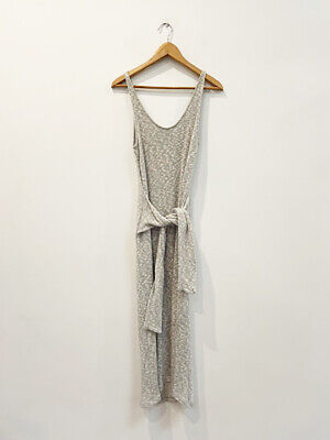 AU79 • Buy Designer Viktoria & Woods Size 0 6 AU Grey Maxi Cotton Knit Women's Dress