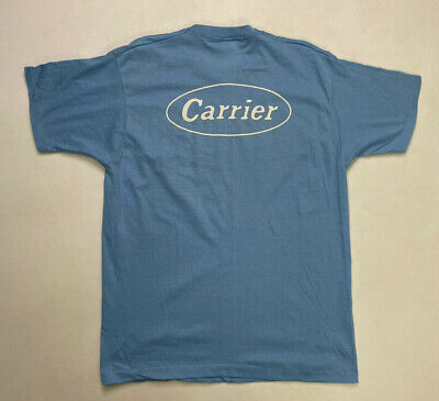 $18.95 • Buy VINTAGE Carrier AC Air Conditioning T-shirt Mens XL USA 80s Single Stitch