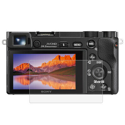 $ CDN3.63 • Buy For Sony A6000/A6300/A6500 Camera 2.5D 9H Tempered Glass Screen Protector Film