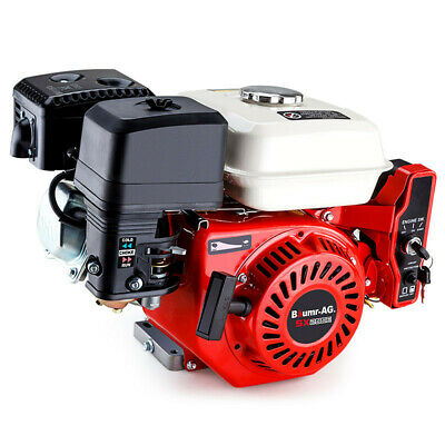 AU419 • Buy 6.5HP Petrol Engine Stationary Motor OHV Horizontal Shaft Electric Start Recoil