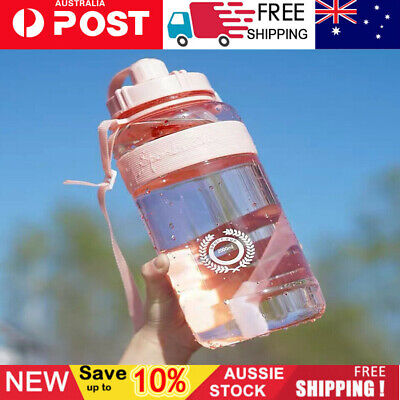AU16.09 • Buy 1.5L/2L Large Capacity Water Bottle Sports Drinking Outdoor Portable Kettle AU