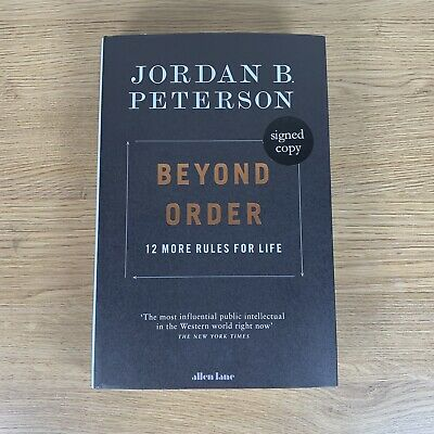 AU84.07 • Buy Beyond Order 12 More Rules For Life By Jordan B Peterson Signed First Edition HB